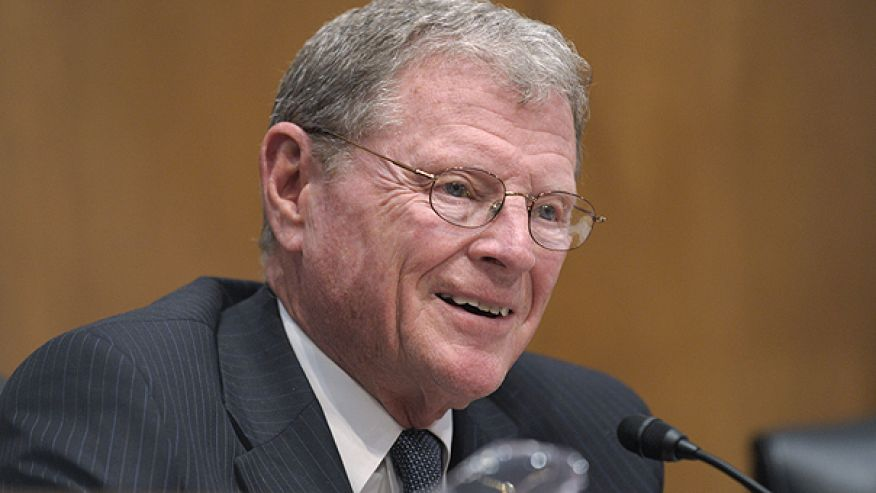 Sen. James Inhofe, R-Okla., ranking Republican on the Senate Environment and Public Works Committee, participates in the committee's hearing entitled, 'Review of the Nuclear Emergency in Japan and Implications for the U.S,' on Capitol Hill in Washington. (AP Photo)