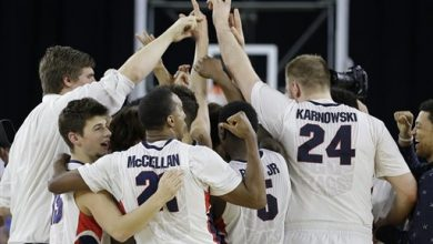 Photo of Gonzaga Headed to Elite Eight for 1st Time Since 1999