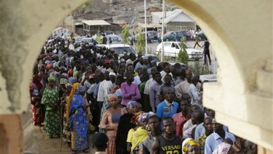 Photo of Millions of Nigerians Turn Out to Vote in Presidential Poll