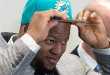 Photo of Ndamukong Suh reports for First Day of Dolphins' Voluntary Workouts