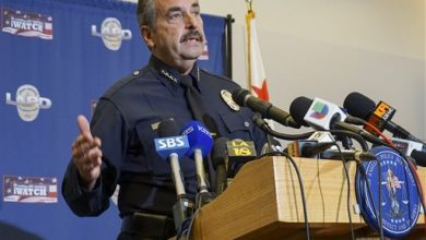 Photo of Two LAPD Officers Shot in Florence Believe They Were Targeted