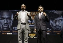 Photo of Holyfield, Hagler Latest to Weigh in on Mayweather-Pacquiao Showdown