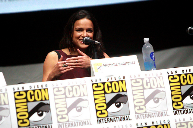 Michelle Rodriguez at San Diego Comic Con 2013. (Gage Skidmore/Flickr/CC BY-SA 2.0)