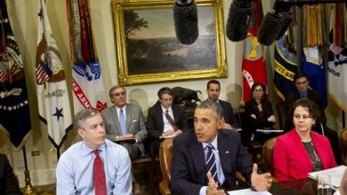 Photo of Obama Says He's Prepared to Fight GOP over Education