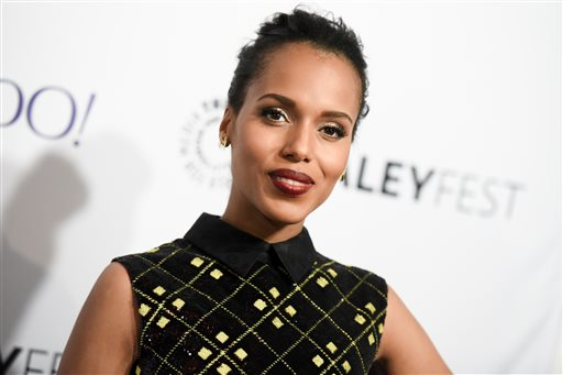 """In this March 8, 2015 file photo, actress Kerry Washington at the 32nd Annual Paleyfest : """"Scandal"""" in Los Angeles. HBO says that Washington will play Anita Hill in a film about the 1991 Supreme Court confirmation hearings for Clarence Thomas. (Photo by Richard Shotwell/Invision/AP, File)"""