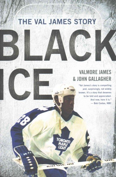 """In """"Black Ice"""" Val James shares his story as the first Black American to play professional hockey."""