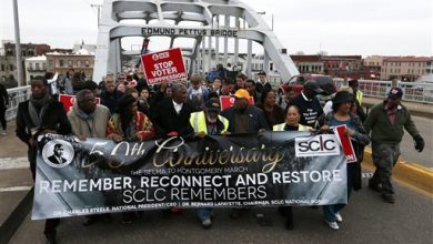 Photo of About 100 Set Out to Retrace Selma-to-Montgomery March