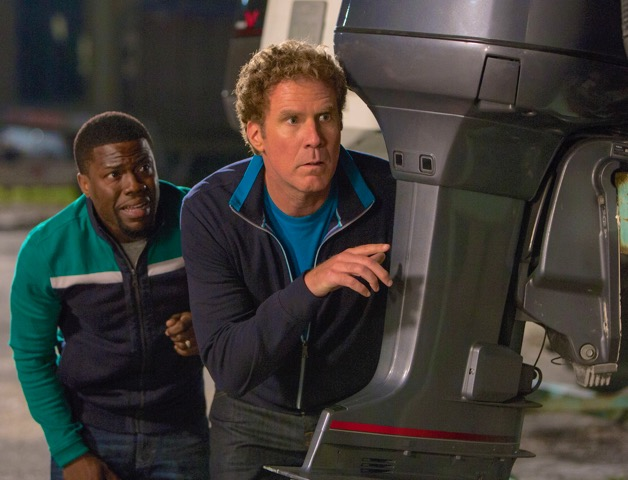 """Kevin Hart and Will Ferrell in the comedy """"Get Hard"""" (Courtesy Photo)"""