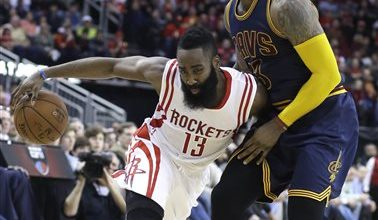 Photo of Harden Suspended 1 Game for Kicking James in the Groin