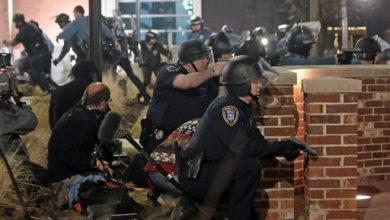 Photo of 2 Officers Shot in 'Ambush' Outside Ferguson PD