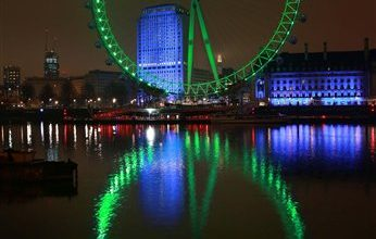 Photo of Landmarks Go Green for St. Patrick's Day Around the World