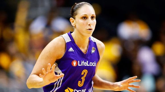 Diana Taurasi with the Phoenix Mercury (AP Photo/Danny Moloshok)