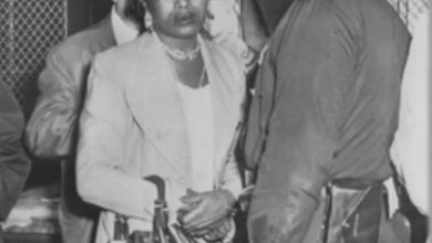 Photo of Izola Ware Curry, 'Demented Black Woman' Who Nearly Killed Martin Luther King, Jr., Dies At 98