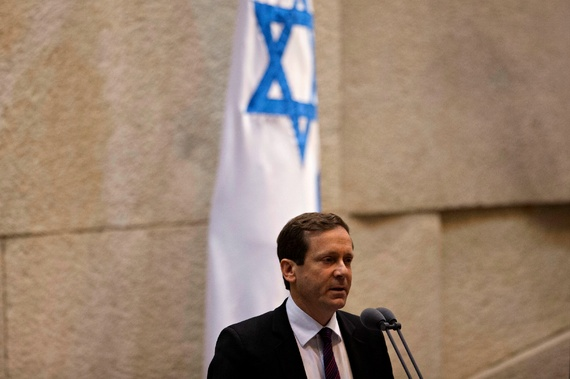 Isaac Herzog, leader of the Labor Party in Israel (Ariel Schalit/AP Photo)