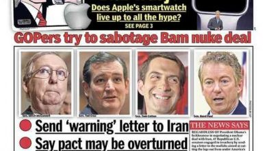 Photo of NY Daily News Denounces GOP Senate as 'Traitors' on their Front Page