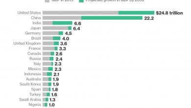 Photo of These Will Be the World's 20 Largest Economies in 2030