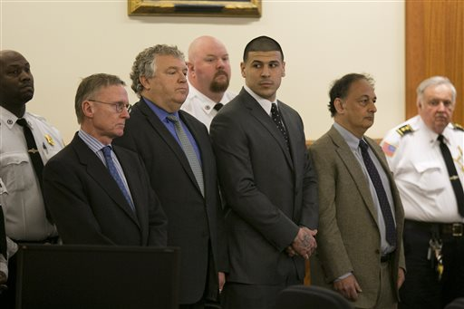 Photo of After Conviction, Many Court Cases Left for Aaron Hernandez