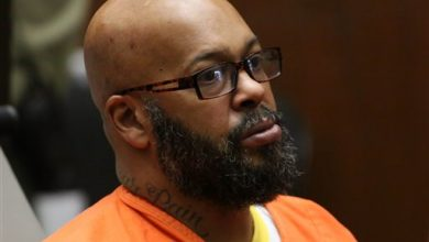Photo of Suge Knight Chained to a Wheelchair in Latest Court Appearance