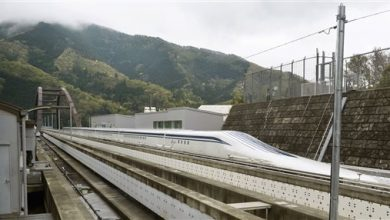 Photo of Bullet Train Hits Tracks at 603 KPH