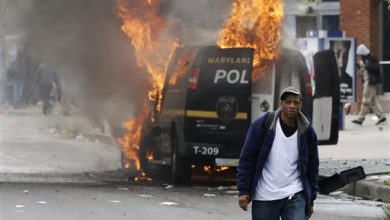 Photo of Riots in Baltimore Over Man's Death in Police Custody