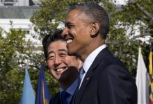 Photo of Obama, Abe Putting Joint Face on Trade Amid Opposition in US