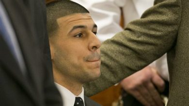 Photo of Source: Aaron Hernandez a Lookout in Prison Fight