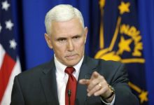 Photo of Governor in a Political Firestorm Over Indiana Law