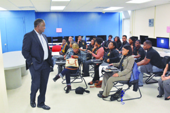 Photo of Partnership with Howard Students, Black Press Reaffirmed