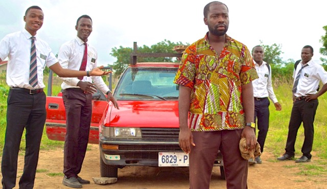 "Henry Adofo and the cast of ""Freetown"""