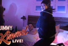 Photo of Video: Rihanna Invades Jimmy Kimmel's Bedroom in April Fools' Day Prank