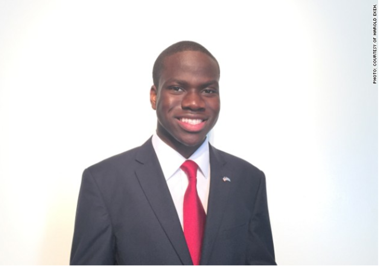 Harold Ekeh was accepted into 13 universities, including all 8 Ivy Leagues. (Courtest Harold Ekeh)