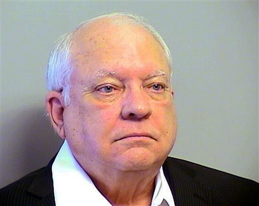 This Tuesday, April 14, 2015 file photo provided by the Tulsa County, Oklahoma, Sheriff's Office shows Robert Bates. Defense attorneys released some of the training records Saturday April 18, 2015 for a 73-year-old volunteer sheriff's deputy charged with manslaughter in the fatal shooting of an unarmed suspect in Oklahoma. The records for Robert Bates include certificates showing what training he received, job evaluation reports and weapons training and qualification records dating to 2008. (Tulsa County Sheriff's Office via AP, File)