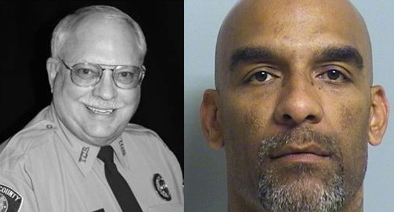 Robert Bates (left) and Eric Harris (Tulsa Police Department)
