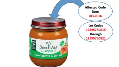 Photo of Baby Food Recalled Over Glass Pieces in Jars