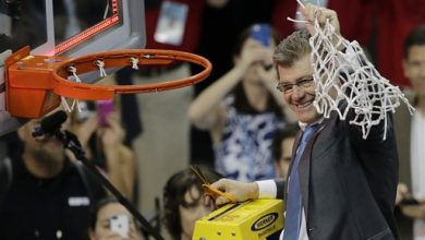 Photo of 3-Peat: UConn Beats Notre Dame 63-53 for 3rd Straight Title