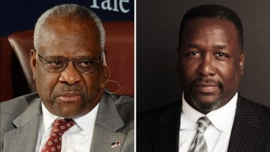 Photo of Wendell Pierce Set as Clarence Thomas in HBO's 'Confirmation' (Exclusive)