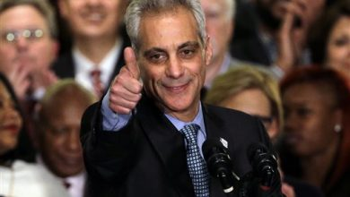 Photo of Chicago Mayor Rahm Emanuel Wins 2nd Term in Runoff Victory