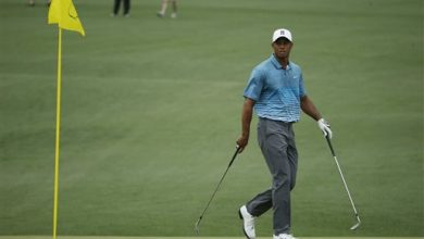 Photo of Tiger Arrives, and the Guessing Game Begins at Masters