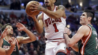 Photo of Rose Scores 23, Bulls Beat Bucks 103-91