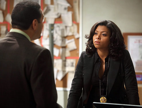 "Taraji P. Henson as Detective Carter on the CBS show ""Person of Interest"" (Eric Liebowitz/CBS)"
