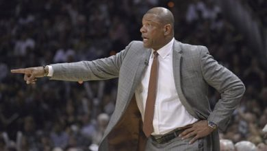 Photo of VIDEO: Doc Rivers Calls Out Quiet Rockets Crowd In Clippers' Game 1 Win
