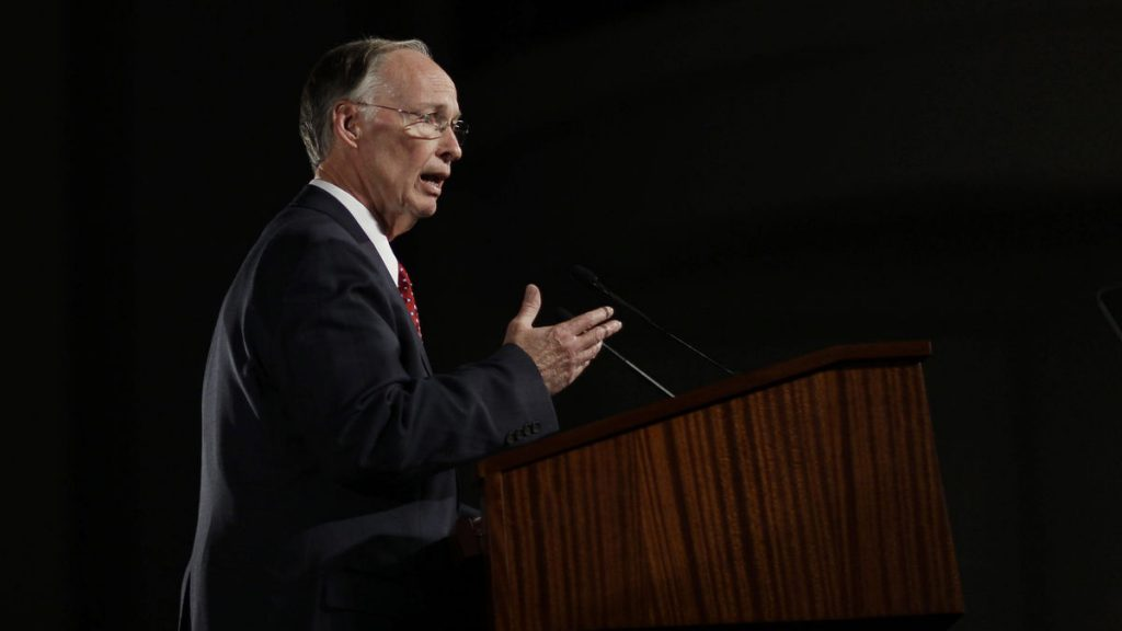 Alabama Governor Robert Bentley has warned of impending cuts, including the closing of 15 of 22 state parks. (Brynn Anderson/AP Photo)