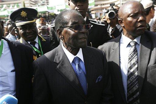 Photo of Mugabe Turns 95