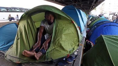 Photo of Paris Leaders Want Fast Expulsion of Migrants from Tent Camp
