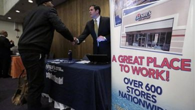 Photo of US Employers Add Solid 223K Jobs; Rate 5.4 pct., 7-Year Low