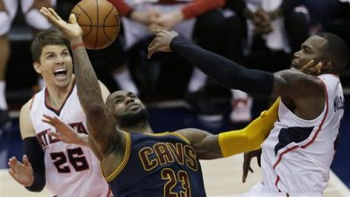 Photo of Smith, James Lead Cavs Past Hawks 97-89 in Game 1