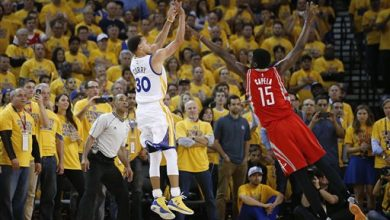 Photo of Warriors Rally Past Rockets 110-106 in Game 1 of West Finals