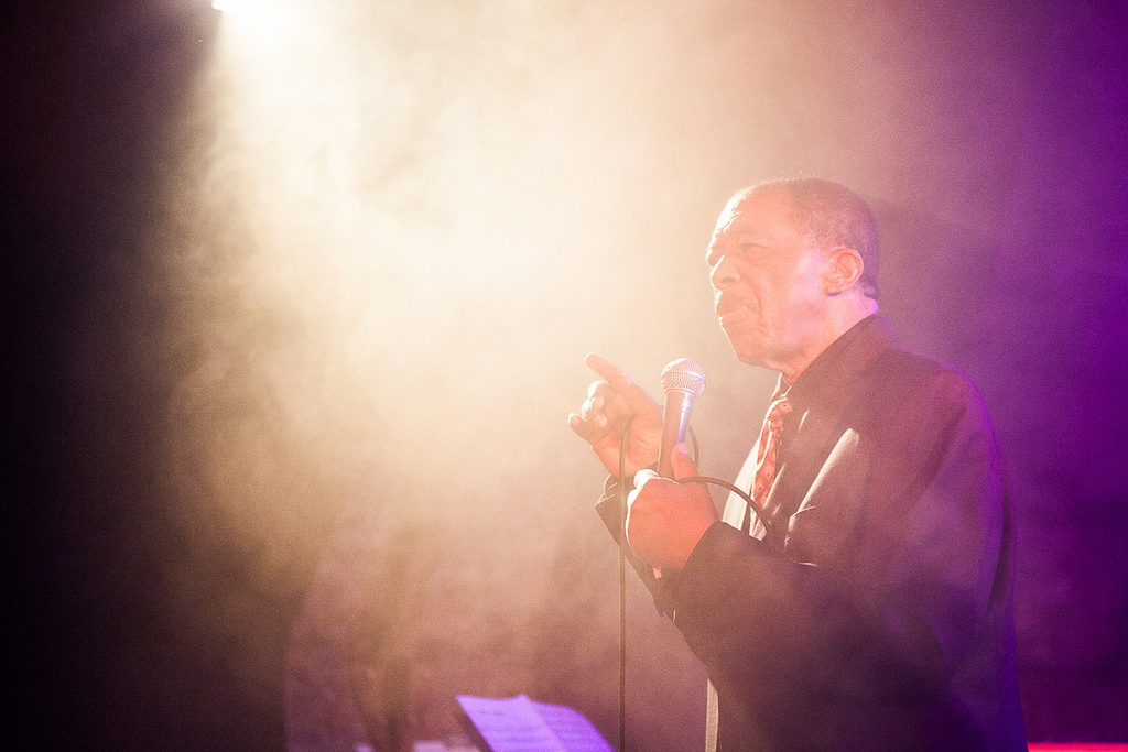 Soul legend Ben E. King performing at the Arches on Sunday 15th April. (Euan Robertson/TheArches/Flickr/CC BY 2.0)