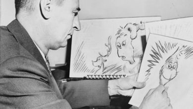 Photo of Racist Dr. Seuss Drawing Up for Auction