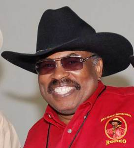 Lu Vason, the founder and producer of 31 year old Bill Pickett Invitational Rodeo (Courtesy of The Chicago Defender)